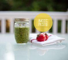 Make sure you have a jar of pesto in your fridge, guys. Just Basil Pesto Sauces, Vegetarian Recipes, Snack Recipes, Feta Chicken, How To Make Pesto, Homemade Pesto, Tasty, Yummy Food, Bon Appetit