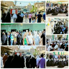 [ 2 Dhul Qadah 1437 ]  Right Now The Atmosphere Inside and Outside Al-Askarian Holy Shrine.