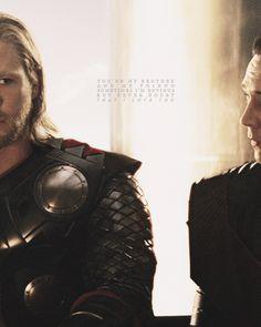 Tom Hiddleston • Chris Hemsworth • Loki • Thor | Never doubt that I love you