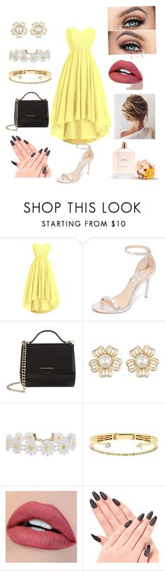 """""""Bright day"""" by girlyleen ❤ liked on Polyvore featuring Rachel Zoe, Givenchy, Humble Chic, Delfina Delettrez and Marc Jacobs"""