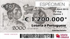 LIKE!!!!  Concurso de criatividade para a Lotaria Classica ;)