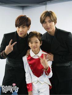 """에스엠루키즈 """"지성"""" with 동방신기 """"윤호"""" """"창민""""  SMROOKIES """"JI SUNG"""" with TVXQ! """"U-KNOW"""" """"MAX""""  HAPPY BIRTHDAY TO MAX ♡"""