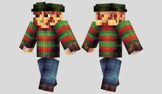Freddy Krueger Skin para Minecraft