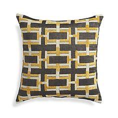 """Melton 18"""" Pillow  $50  crateandbarrel.com"""