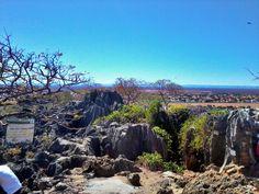 Vista do morro da Gruta do Senhor Bom jesus, ao fundo a cidade em Bom Jesus da Lapa - Bahia