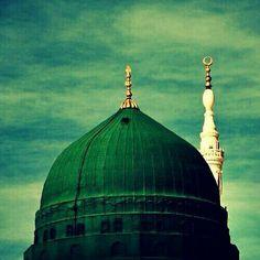 Islamic Images, Islamic Pictures, Medina Mosque, Allah Islam, Madina, Prophet Muhammad, Girls Image, Taj Mahal, Building