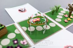 Explosionsbox mit Gartenmotiv | Mediendesign Moser