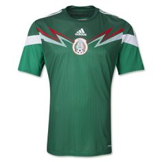 157721198 Mexico 2014 Authentic Home Soccer Jersey Mexico Soccer Jersey