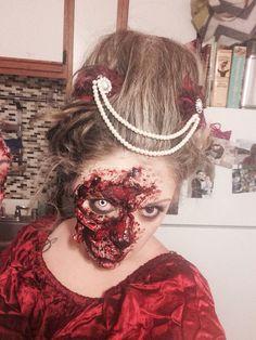 Torn face flesh mask