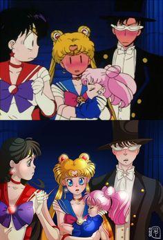 Sailor moon redraw by Llapasllaly on DeviantArt Sailor Moon Funny, Sailor Moon Fan Art, Sailor Moon Character, Sailor Chibi Moon, Sailor Uranus, Sailor Moon Crystal, Sailor Mars, Fan Art Anime, Anime Nerd