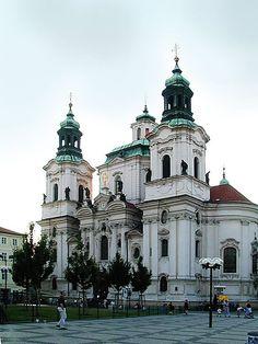 PRAGA // Praha Staromestske namesti Mikulas - Kilián Ignác Dientzenhofer