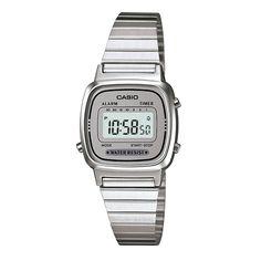 Relógio Casio Vintage Feminino Prata Digital LA670WA-7DF e as melhores ofertas você encontra aqui no Carrefour