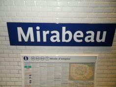 Metro Mirabeau