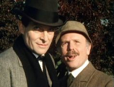 """""""Holmes"""" - """"Excellent Watson"""""""