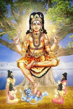 Dhakshinamoorthy Sanskrit: दक्षिणामूर्ति (Dakṣiṇāmūrti) is an aspect of the Hindu god Shiva as a guru (teacher) Gnana Kadhavul of all types of knowledge Lord Shiva Pics, Lord Shiva Hd Images, Lord Shiva Family, Arte Shiva, Mahakal Shiva, Shiva Statue, Lord Murugan Wallpapers, Lord Vishnu Wallpapers, Om Namah Shivaya