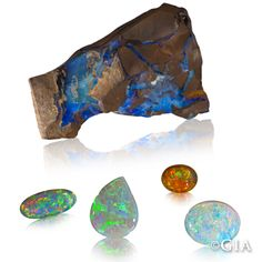 Valued for its shifting play of color, opal's rainbow hues offer the colors of all the other gems combined.