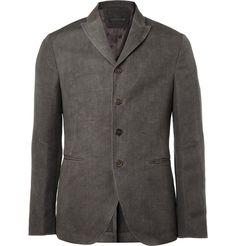 JOHN VARVATOS   ::   HEMP AND WOOL-BLEND JACKET, think im gonna buy one for winter :-)