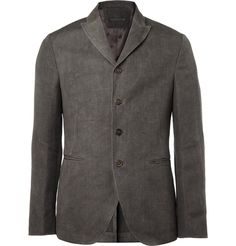 JOHN VARVATOS   ::   HEMP AND WOOL-BLEND JACKET