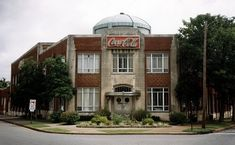 Built in 1939 by early Coca-Cola bottler, Luther F. Carson. This Paducah, KY landmark is under renovation. Follow it here.