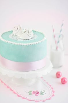 Baby Bootie Cake and Secrets of the Mommyhood Book Giveaway! Recipe