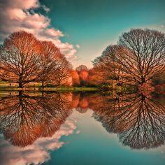İngiltereli fotoğrafçı Reg Ramai'den muhteşem yansıma ve muhteşem bir manzara :) #Lukapu #Fotokitap #Fotograf #Album