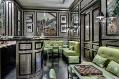 """Inside the """"The Finest Estate Home in America"""" as discussed on The Huffington Post. One can just imagine the number of influential people from around the world who have had a drink in this bar. See all 200 pictures."""