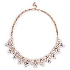 "Sole Society ""dainty geo statement necklace"", $29.95"