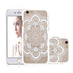 iPhone 6 Case, NOVT Flower Printed Slim Fit Hard Plastic Clear iPhone 6 Case Cover Shock Absorbing Anti-Scratch Floral Transparent Back PC Cell Phone Case for Apple iPhone 6/6S 4.7 Inch (14) NOVT http://www.amazon.com/dp/B01ARRCW56/ref=cm_sw_r_pi_dp_4q3Nwb0KBPMQ6