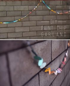paintchip+garland+diy
