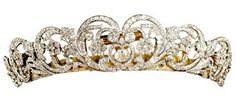 The Spencer Tiara worn by Princess Diana on her wedding.
