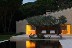 Gorgeous minimalist villa in Saint-Tropez now for sale - Curbedclockmenumore-arrow : Designed by British architectural designer John Pawson Saint Tropez, Residential Architecture, Architecture Design, Ancient Architecture, Sustainable Architecture, Landscape Architecture, John Pawson Architect, St Tropez France, Terrasse Design
