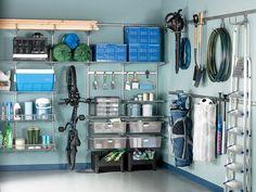 Dream garage organization