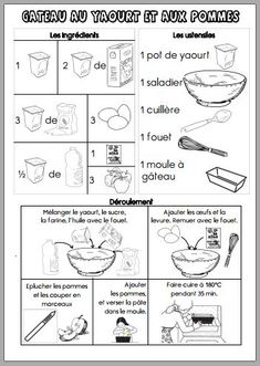 Fiches recettes maternelle - Dans ma petite roulotte... Autism Education, Education Quotes, Thing 1, Cooking With Kids, Activities For Kids, Desserts, Food, Perception, Grands Parents