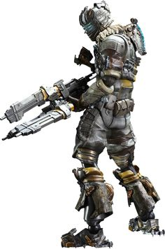 Dead Space - Dead Space 3 - Isaac Clarke Play Arts Kai Action Figure