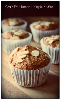 ... Healthy Muffins on Pinterest | Date muffins, Muffins and Grain free