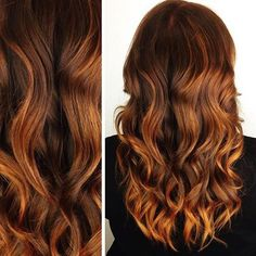 Pin for Later: Pumpkin Spice Colour Is the Newest Way to Add Autumn Flair to Hair