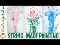 String-made Abstract Painting