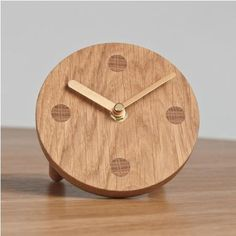 Wooden Clock from Another Country