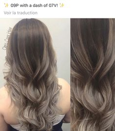 Trendy Hair Styles For Work Proffesional 24 Ideas Ash Brown Hair Color, Hair Color Blue, Ash Blonde Hair, Blonde Ombre, Matrix Hair Color, Redken Hair Color, Balayage Hair Tutorial, Redken Hair Products, Hair Color Formulas