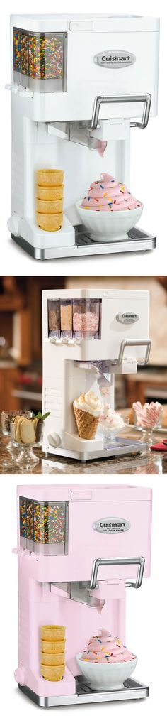 Cuisinart Mix It In Soft-Serve Ice Cream Maker // yes please! #product_design