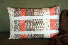 Happy Together | Patchwork Pillow
