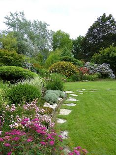 Untitled | jon orue | Flickr Outdoor Spaces, Outdoor Decor, Stepping Stones, Sidewalk, Backyard, Plants, Photography, Garden Ideas, Gardening