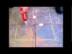 ▶ How-To Fix Loose & Hollow Tile Floors: Don't Remove or Replace! Just Drill & Fill! - YouTube