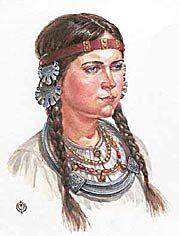 Scythian woman.
