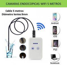 Tecnologia y gadgets de electronica: Videocamaras y camaras endoscopicas WIFI