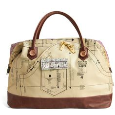 Disaster Designs Holding Pattern Overnight Bag