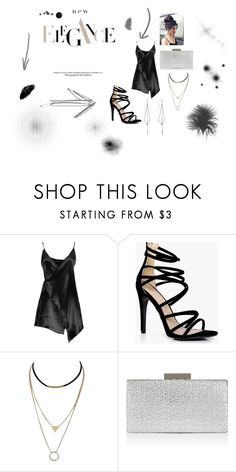 """""""Night Out"""" by kaitlynbryant96 on Polyvore featuring Boohoo, Monsoon and Diane Kordas"""