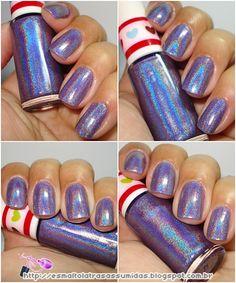 Misturinhas holográficas com Jade http://esmaltolatrasassumidas.blogspot.com.br/2012/09/misturinhas-holograficas-com-jade.html