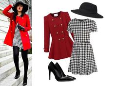 Extremely stunning for a monday office look! We love monochrome dresses a lot! This outfit is from Target. Amazing! #ootd #fallstyle #streetstyle #outfitgrid