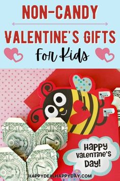 Non-candy valentines gifts for kids - here is a list of great ideas to give kids that are educational or easy or frugal or personalized that isn't candy! #noncandyvalentines #noncandyvalentinesgiftsforkids #valentinesforkids #valentinesdaygiftideas #valentinesdaygiftideasforkids All Valentine Day, Valentine Gifts For Kids, Diy Holiday Gifts, Homemade Christmas Gifts, Funny Valentine, Homemade Gifts, Diy Gifts, Valentines, Mason Jar Gifts